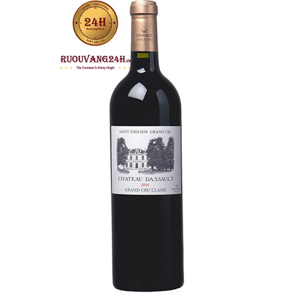 Rượu Vang Pháp Chateau Dassault Grand Cru Classe