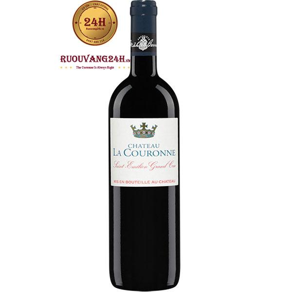 Rượu Vang Pháp Chateau La Couronne