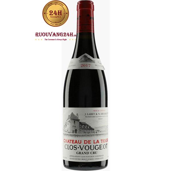 Rượu Vang Pháp Clos Vougeot Chateau De Latour