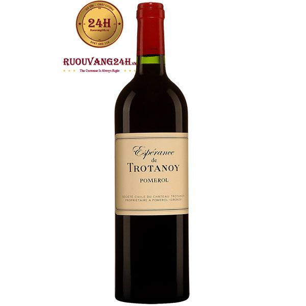 Rượu Vang Pháp Esperance De Trotanoy Pomerol