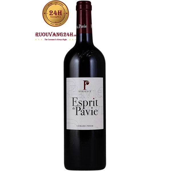 Rượu Vang Pháp Esprit De Pavie Bordeaux