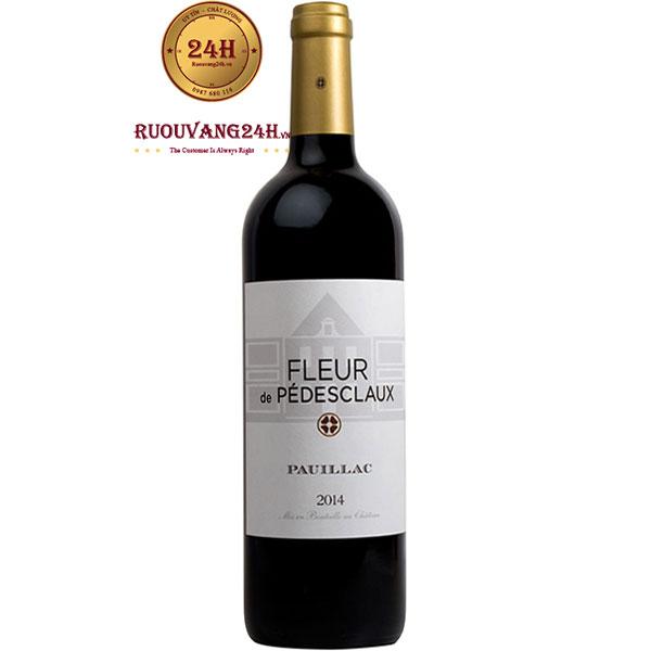 Rượu Vang Pháp Fleur De Pedesclaux Pauillac