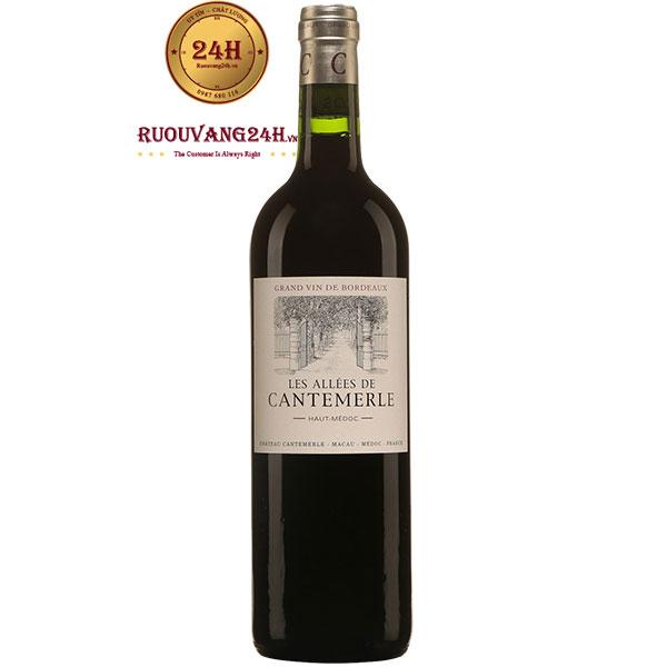 Rượu Vang Pháp Les Allees De Cantemerle