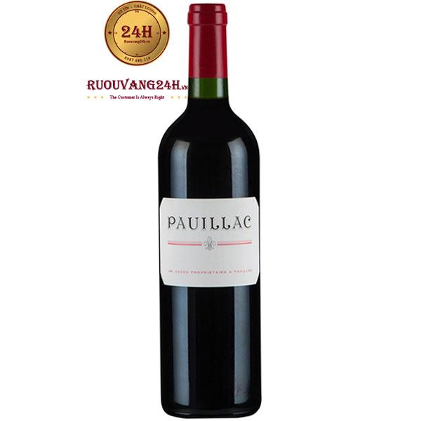 Rượu Vang Pháp Pauillac De Lynch Bages