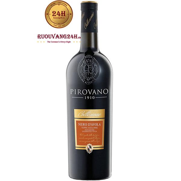 Rượu Vang Pirovano 1910 Nero D'avola