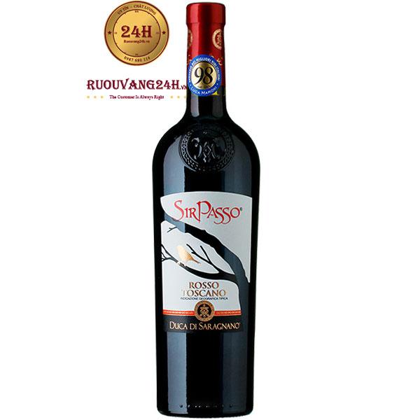 Rượu Vang Sir Passo Rosso Toscana