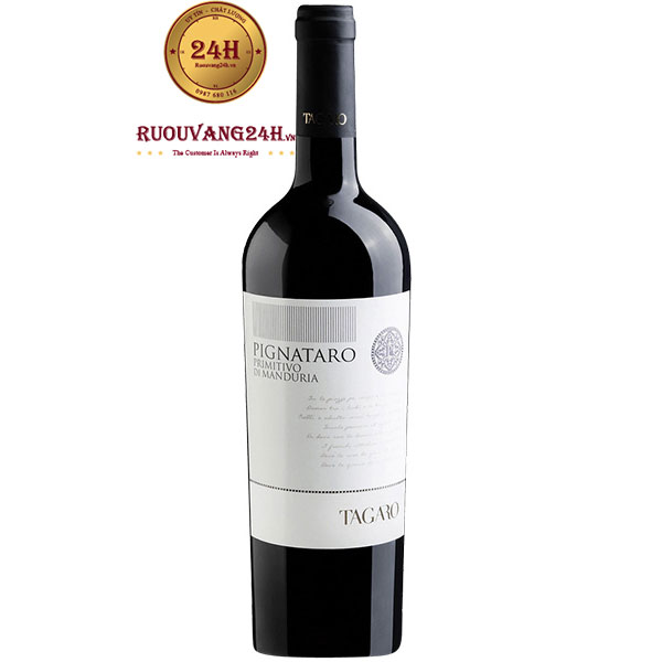 Rượu Vang Tagaro Pinataro Primitivo Di Manduria