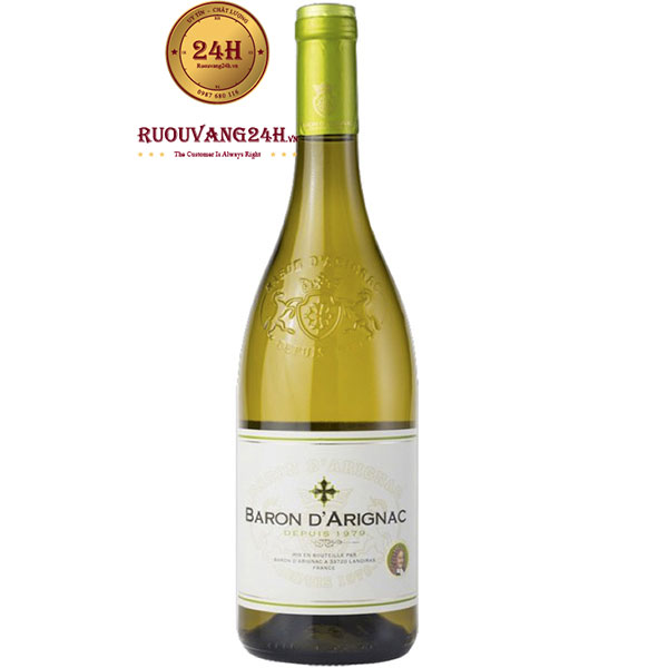 Rượu Vang Trắng Baron D'Arignac