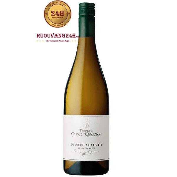 Rượu Vang Trắng Corte Giacobbe Pinot Grigio
