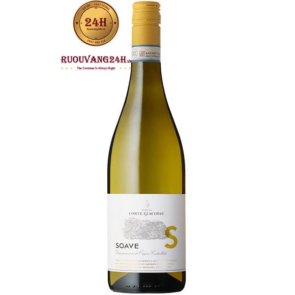 Rượu Vang Trắng Corte Giacobbe Soave