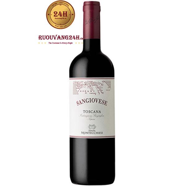 Rượu Vang Ý Montecchiesi Sangiovese