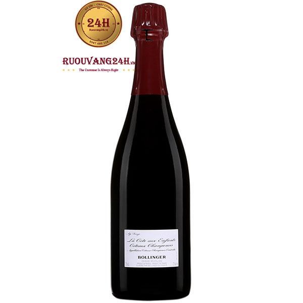 Rượu Champagne Bollinger La Cote Aux Enfants