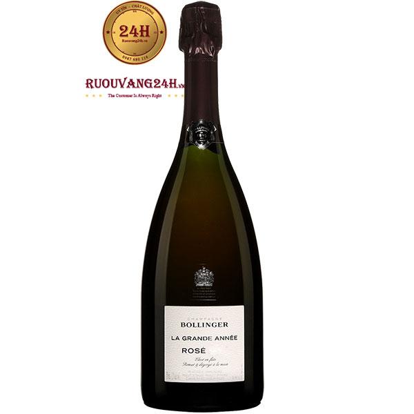 Rượu Champagne Bollinger La Grande Annee Rose
