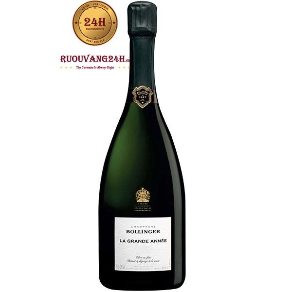 Rượu Champagne Bollinger La Grande Annee