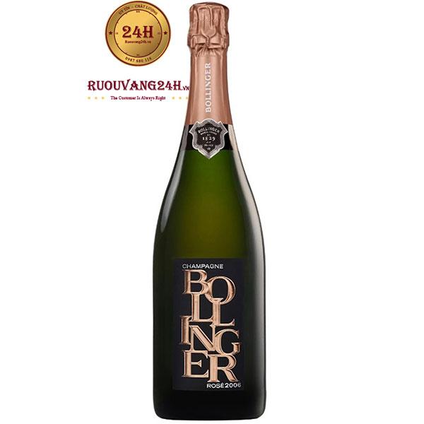 Rượu Champagne Bollinger Limited Rose