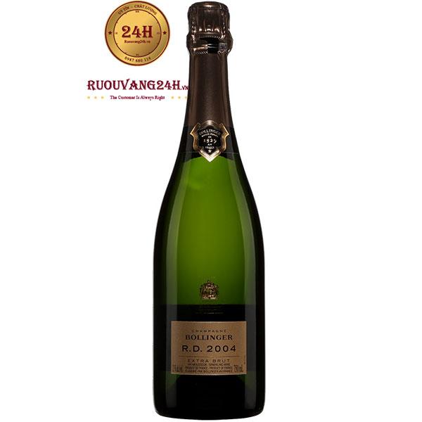 Rượu Champagne Bollinger RD 2004