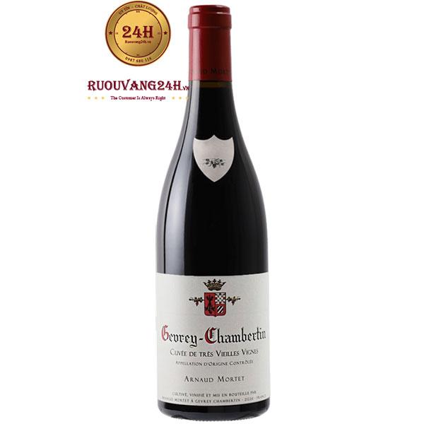 Rượu Vang Arnaud Mortet Gevrey Chambertin Cuveé De Très Vieilles Vignes