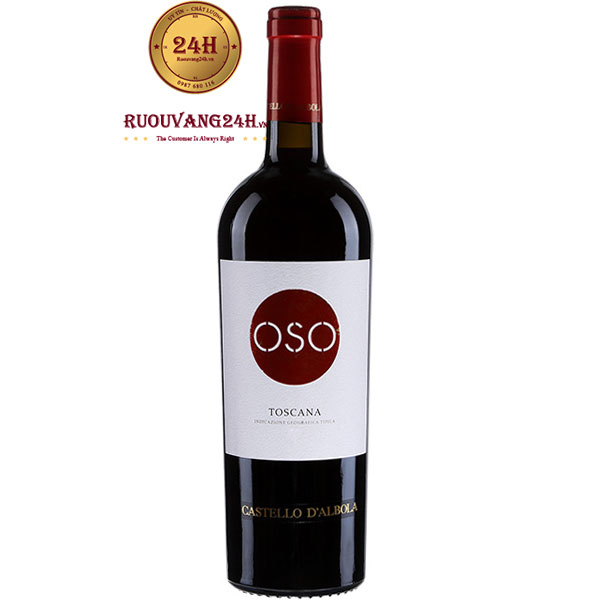 Rượu Vang Castello D'Albola OSO Toscana
