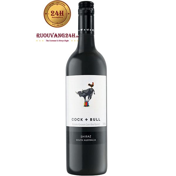 Rượu Vang Cock + Bull Shiraz