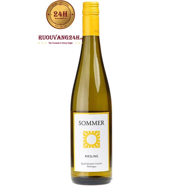Rượu Vang Đức Sommer Riesling