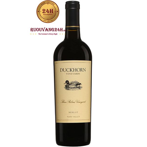 Rượu Vang Duckhorn Three Palms Vineyard Merlot