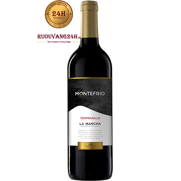 Rượu Vang Montefrio Tempranillo La Mancha Felix Solis