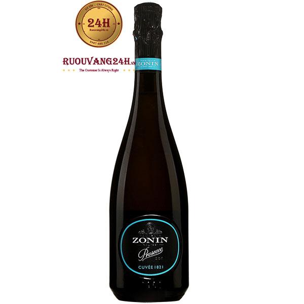 Rượu Vang Nổ Zonin Cuvee 1821 Prosecco