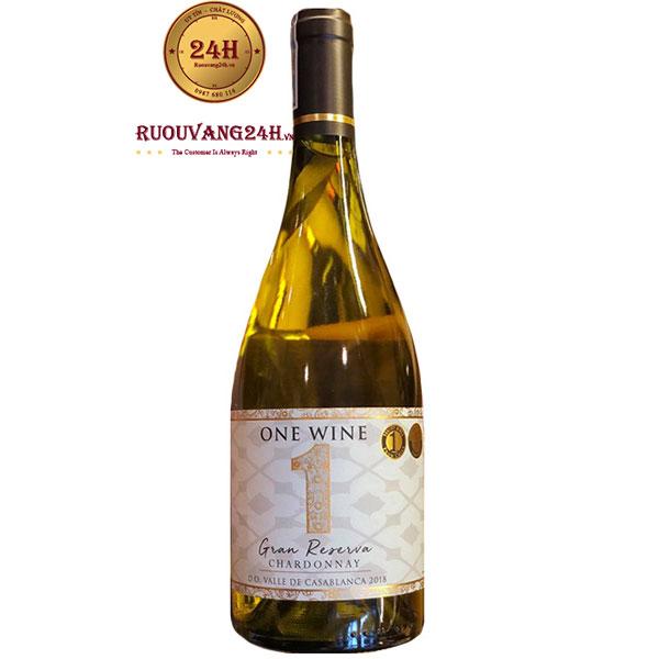 Rượu Vang One Wine Gran Reserva Chardonnay