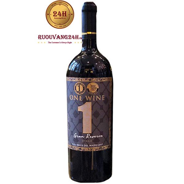 Rượu Vang One Wine Gran Reserva Syrah