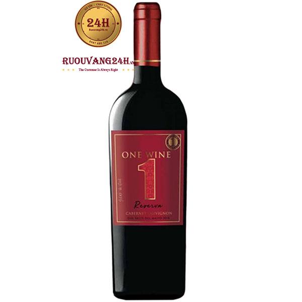Rượu Vang One Wine Reserva Cabernet Sauvignon