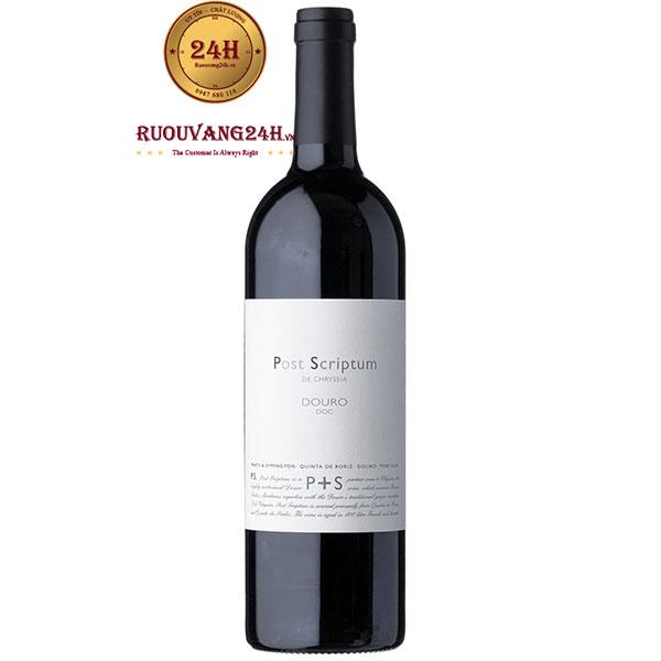 Rượu Vang Post Scriptum De Chryseia Douro