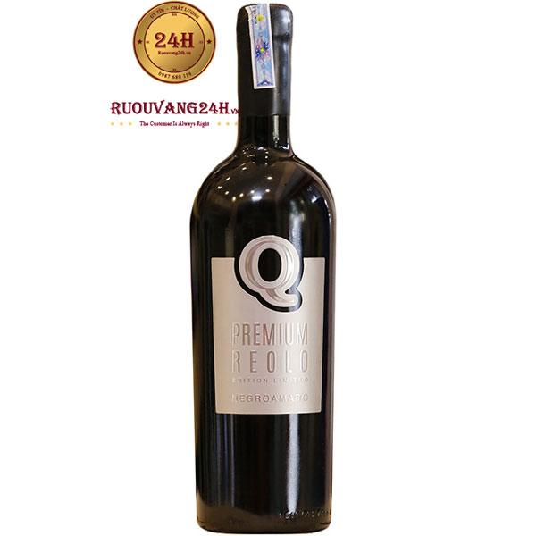 Rượu Vang Q Premium Reolo Negroamaro