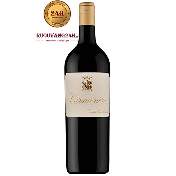 Rượu Vang San Leonardo Carmenere