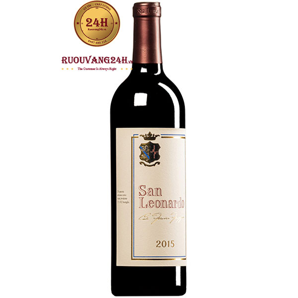 Rượu Vang San Leonardo Rosso Dolomiti