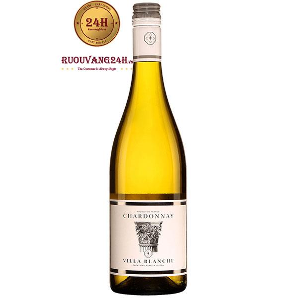Rượu Vang Villa Blanche Chardonnay