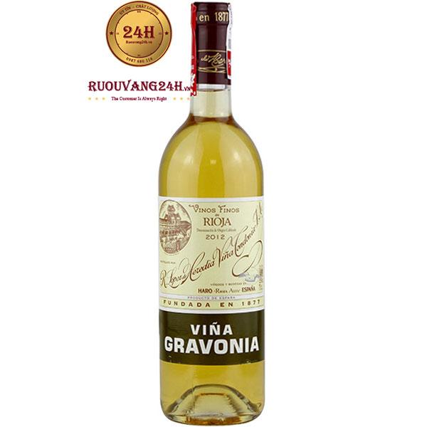 Rượu Vang Vina Gravonia Blanco Crianza