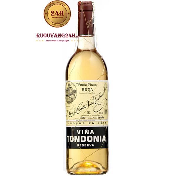 Rượu Vang Vina Tondonia Blanco Reserva