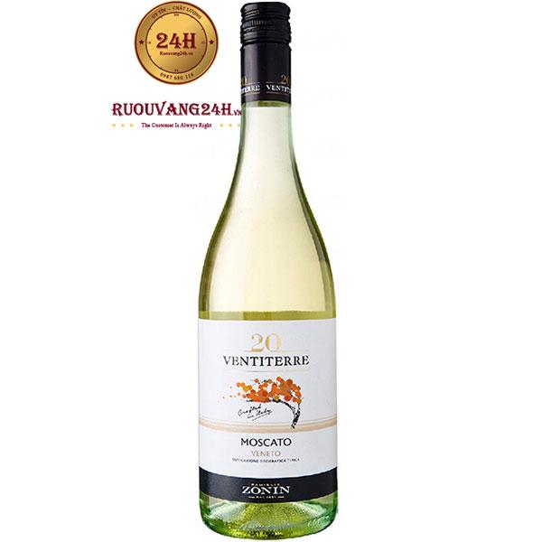 Rượu Vang Zonin 20 Ventiterre Moscato