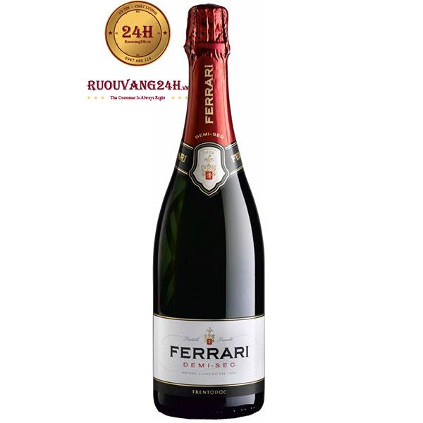 Rượu Sparkling Ferrari Demi Sec Trentodoc