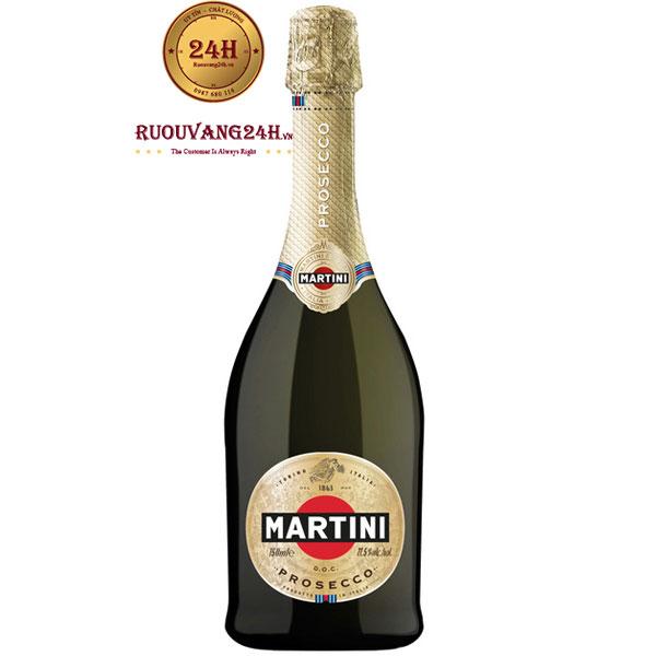 Rượu Sparkling Martini Prosecco
