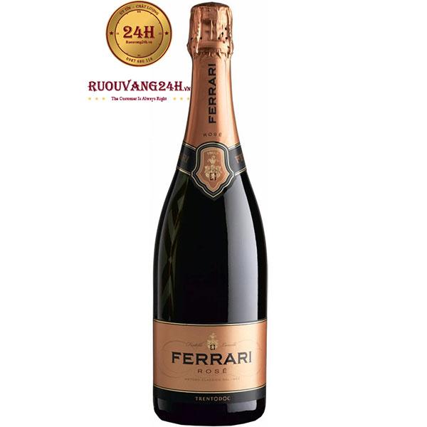 Rượu Vang Ferrari Rose Trentodoc