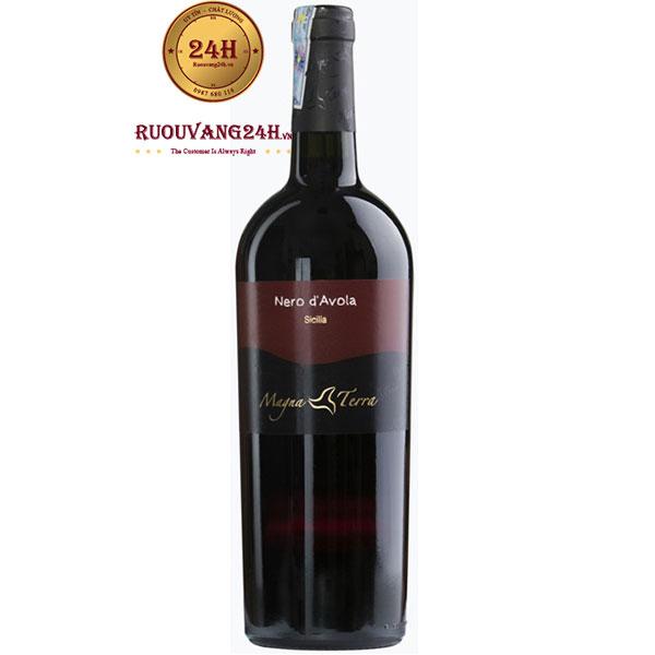 Rượu Vang Magna Terra Nero D'avola