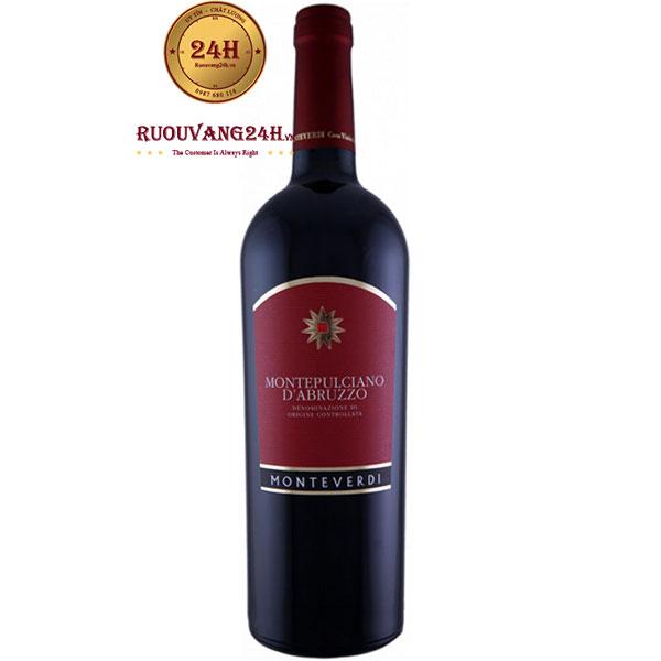 Rượu Vang Monteverdi Montepulciano D'Abruzzo