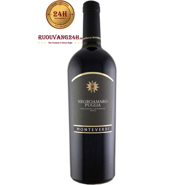 Rượu Vang Monteverdi Negroamaro Puglia