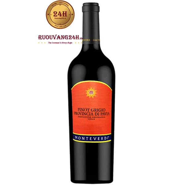 Rượu Vang Monteverdi Pinot Grigio Provincia Di Pavia