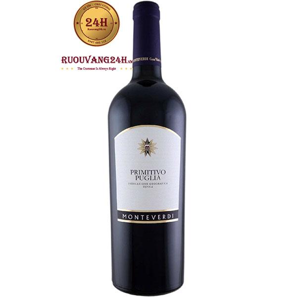 Rượu Vang Monteverdi Primitivo Puglia