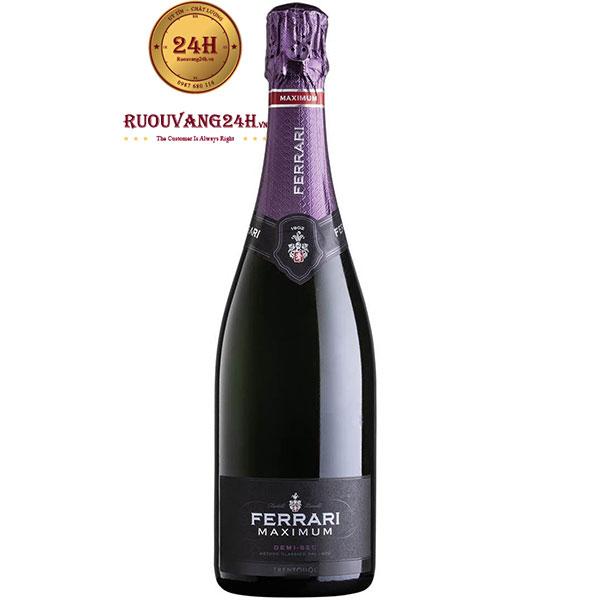 Rượu Vang Nổ Ferrari Maximum Demi Sec Trentodoc