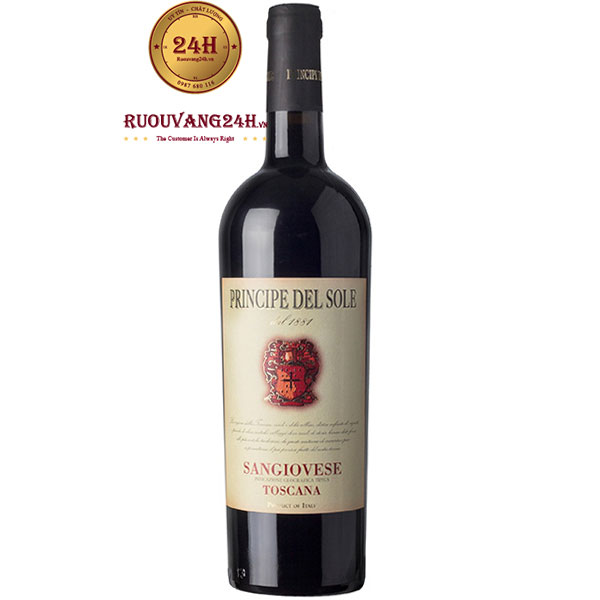 Rượu Vang Principe Del Sole Sangiovese Toscana