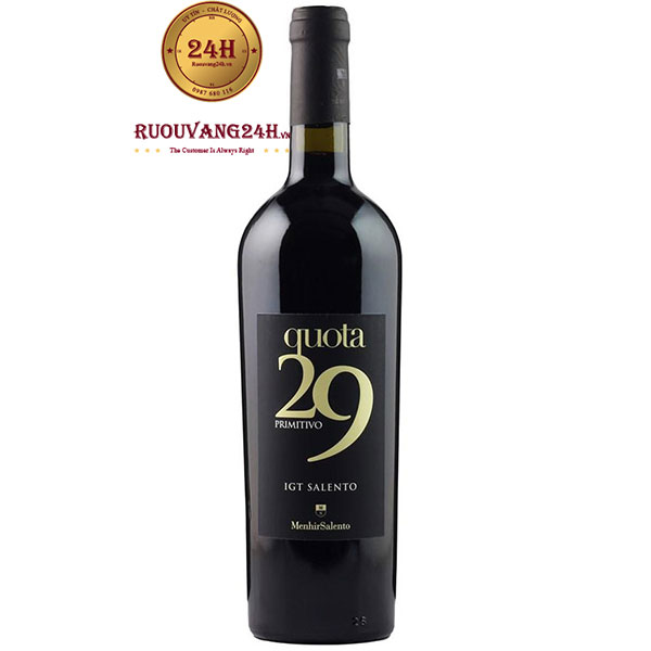 Rượu Vang Quota 29 Primitivo