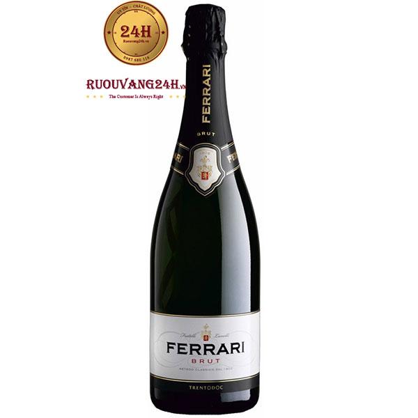 Rượu Vang Sparkling Ferrari Brut Trentodoc